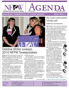 NFPW Agenda cover
