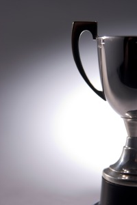 Close-Up Of Trophy