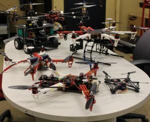 News drones.