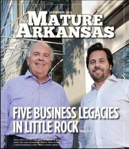 cover of sept 2013 mature arkansas